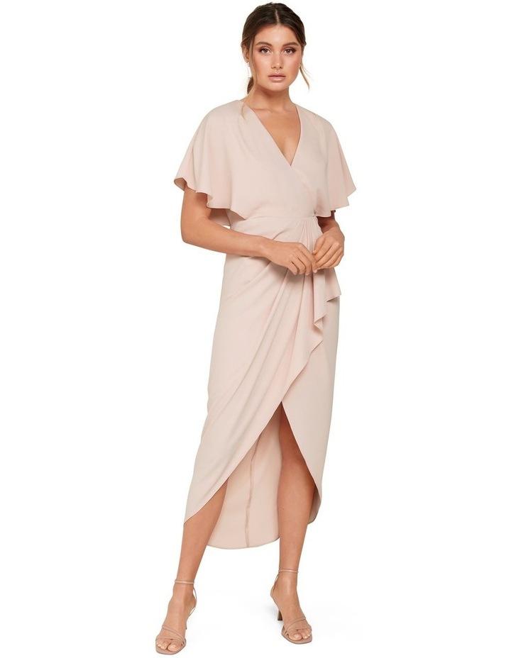 Jasmine Batwing Wrap Midi Dress image 5