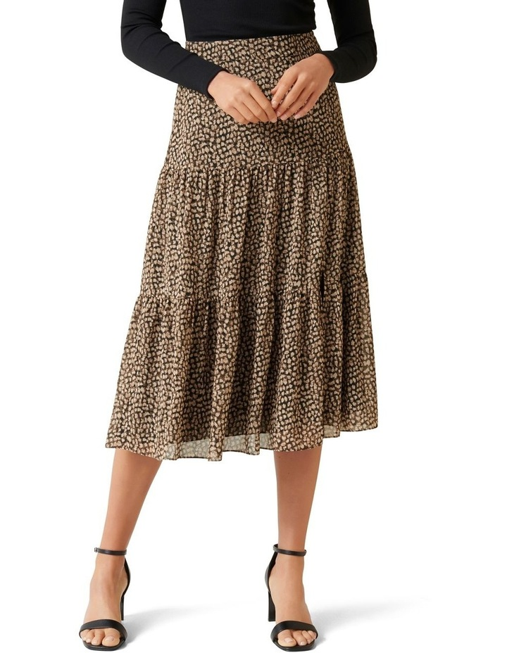 Tash Tiered Maxi Skirt image 1