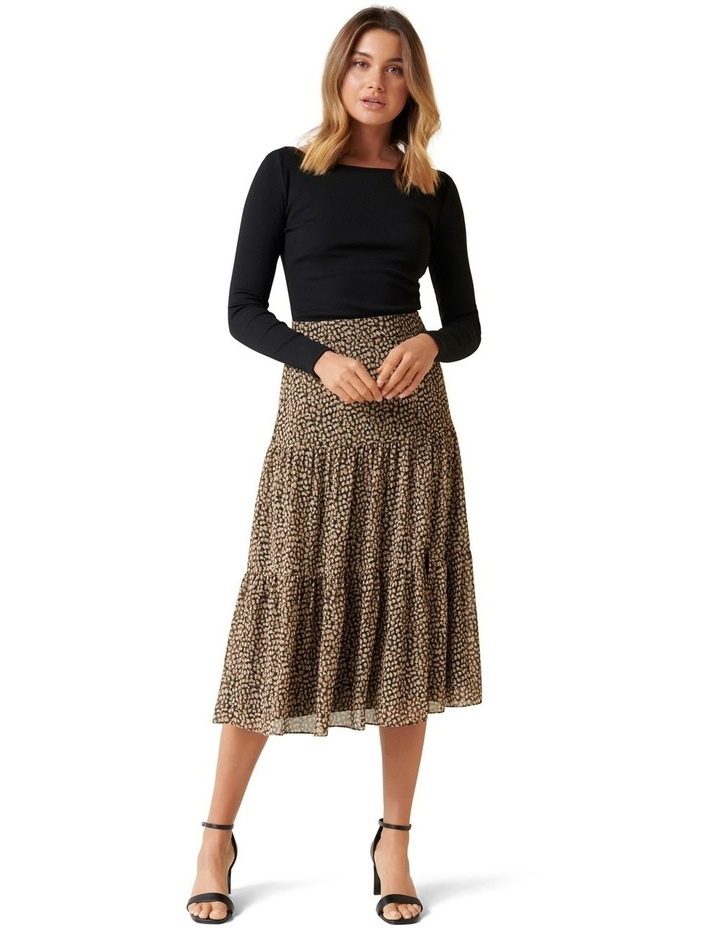 Tash Tiered Maxi Skirt image 4