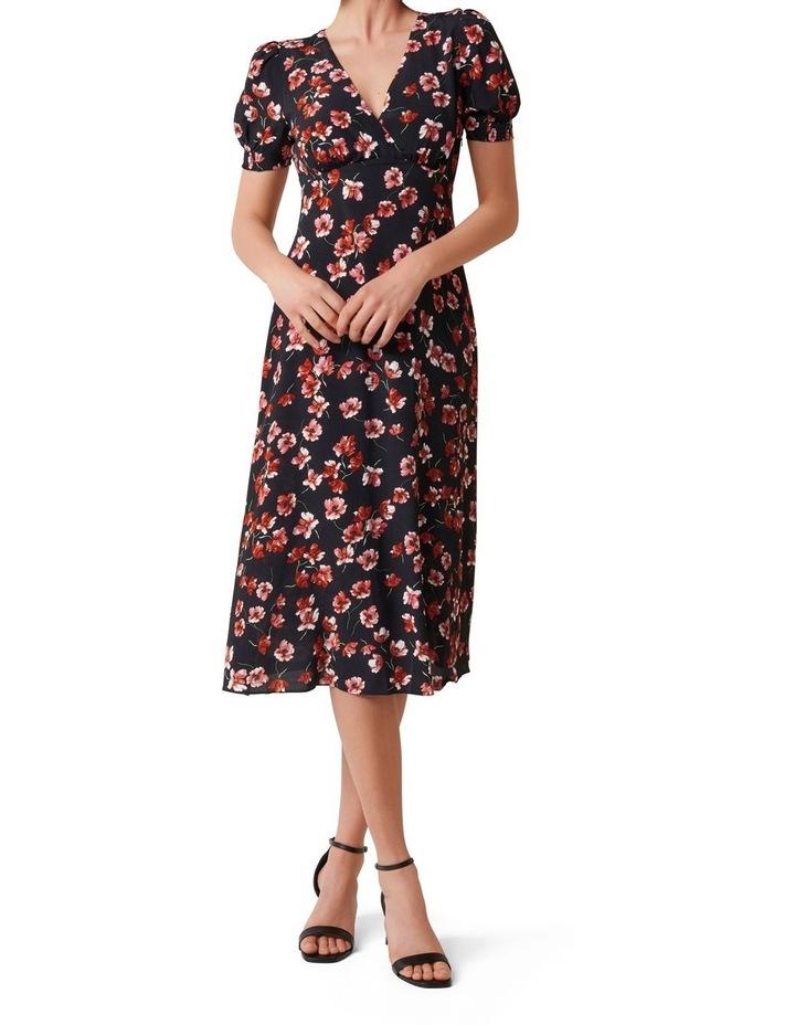 Dani Short Sleeve Midi Dress image 1