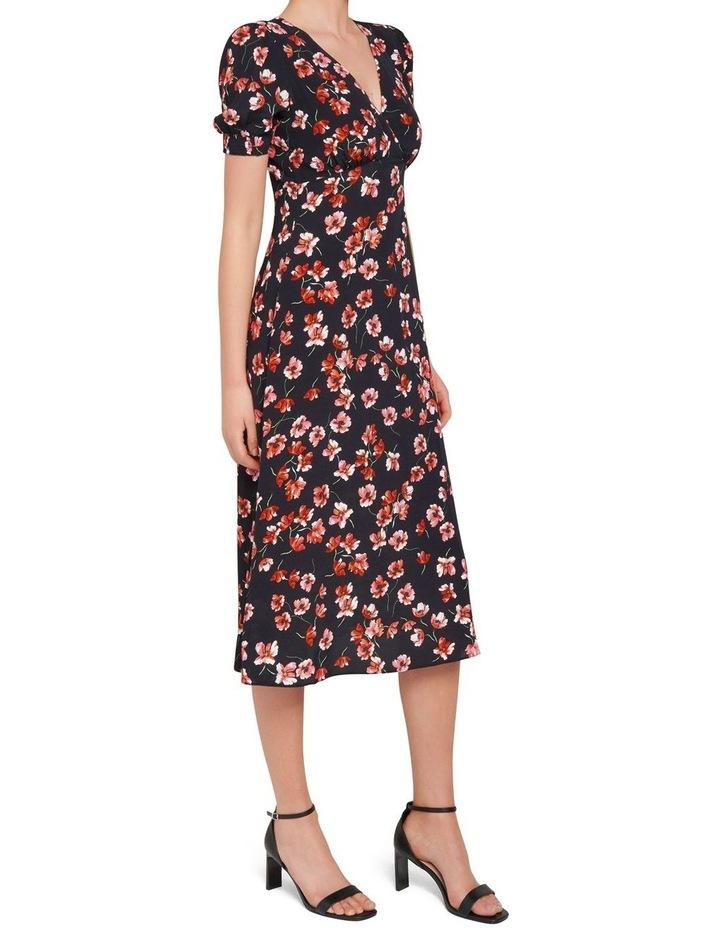 Dani Short Sleeve Midi Dress image 2
