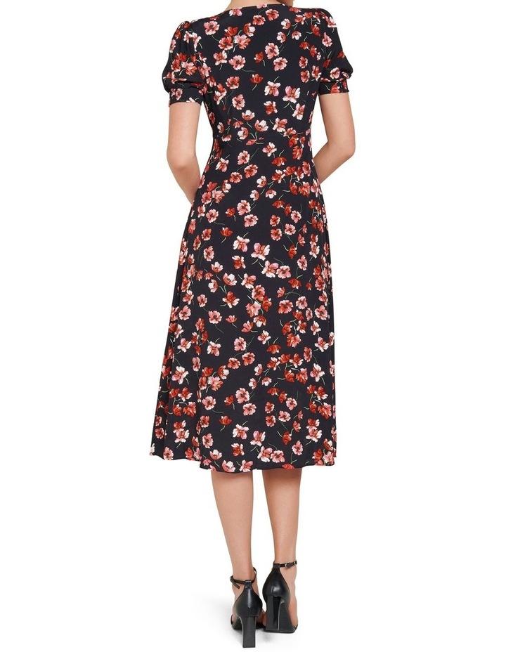 Dani Short Sleeve Midi Dress image 3