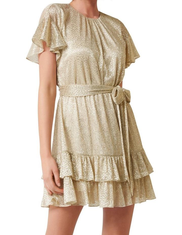 Camilla Foil Plisse Skater Dress image 1