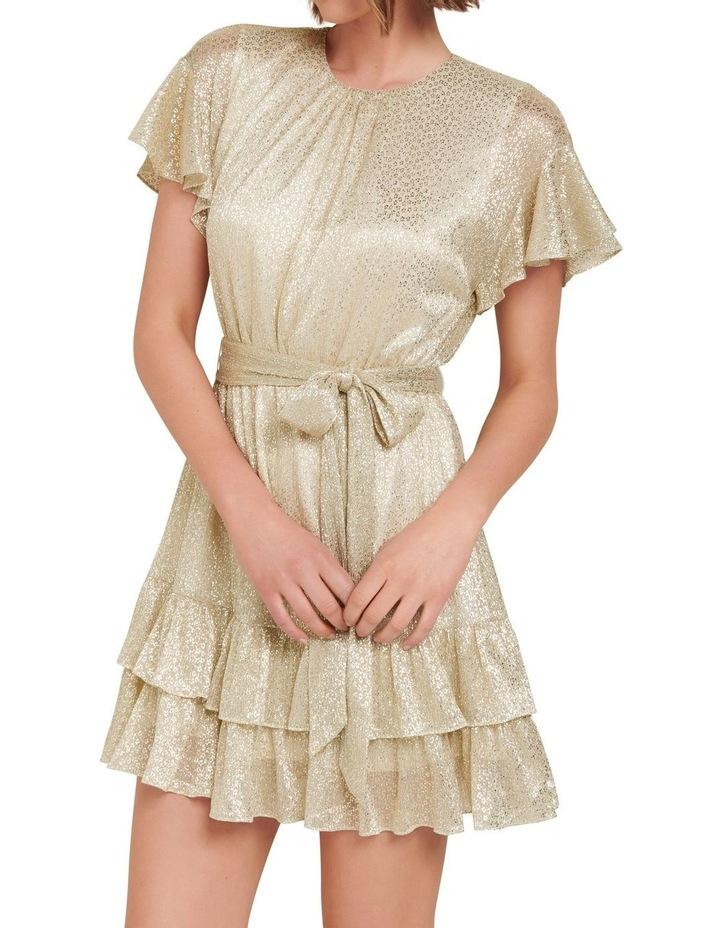Camilla Foil Plisse Skater Dress image 2