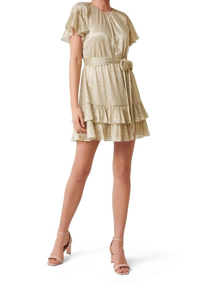 Camilla Foil Plisse Skater Dress image 4