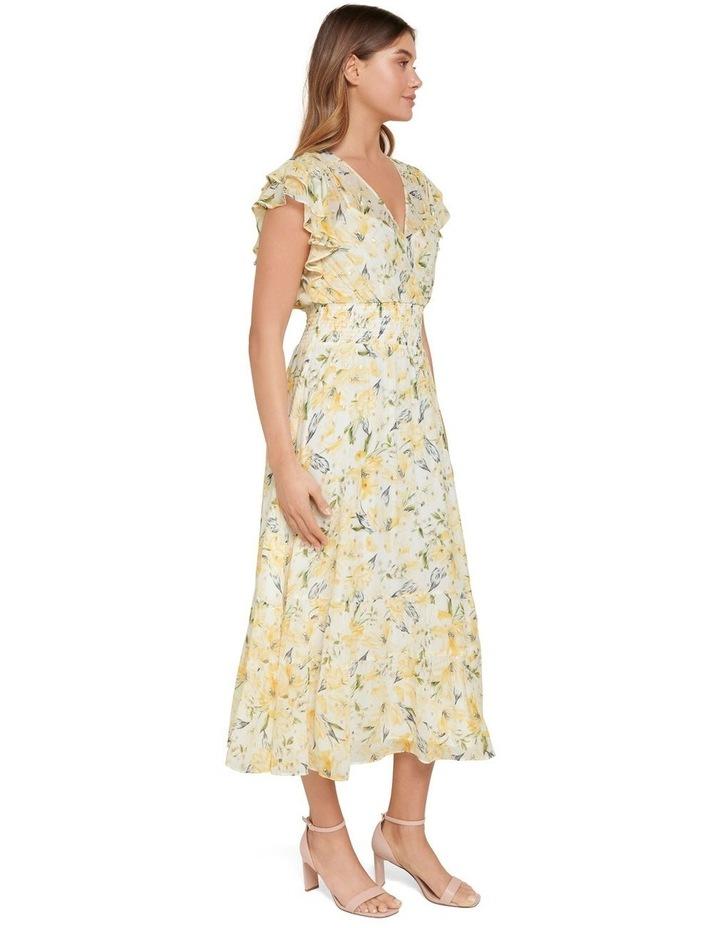 Jenny Metallic Tiered Midi Dress image 2