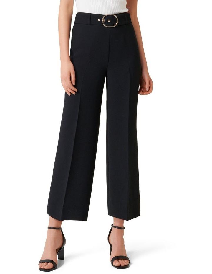 Nadine Petite Belted Culotte Pants image 1