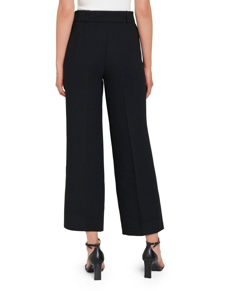 Nadine Petite Belted Culotte Pants image 3