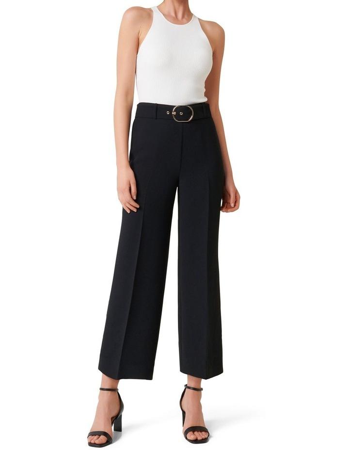 Nadine Petite Belted Culotte Pants image 4