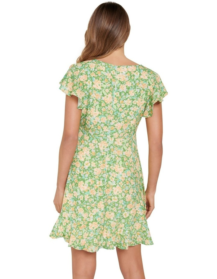 Shelby Flutter Sleeve Skater Dress image 3