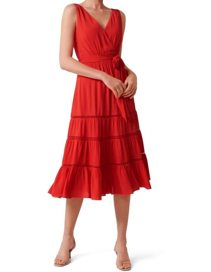 Georgia Tiered Midi Dress image 1