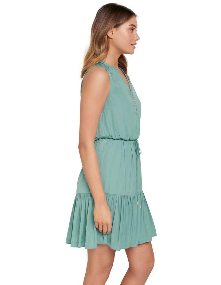 Poppy Tiered Skater Dress image 2