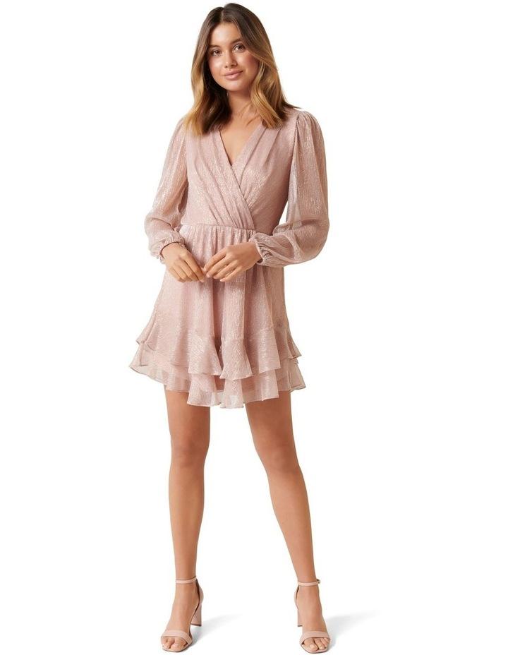 Sonita Plisse Skater Dress image 4