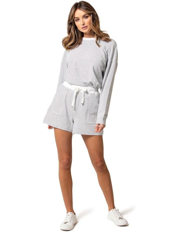 Lena Stripe Loungewear Shorts image 1