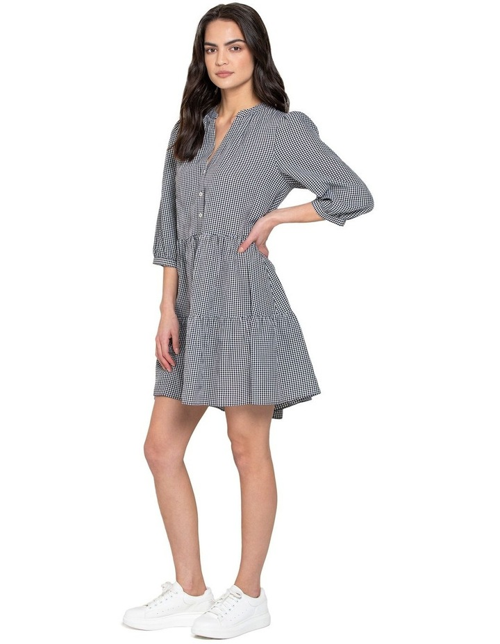 Gina Gingham Smock Dress image 2