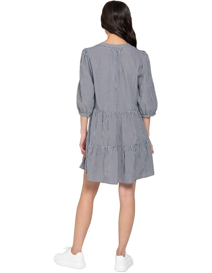 Gina Gingham Smock Dress image 3