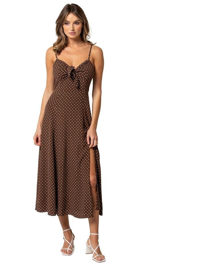 Clementine Tie Front Midi Dress image 1