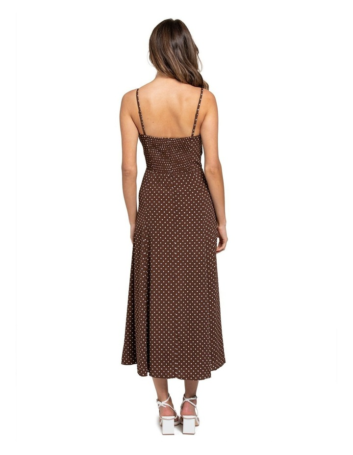 Clementine Tie Front Midi Dress image 2