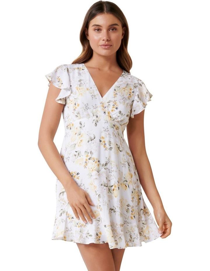 Wren Petite Wrap Bodice Dress image 1
