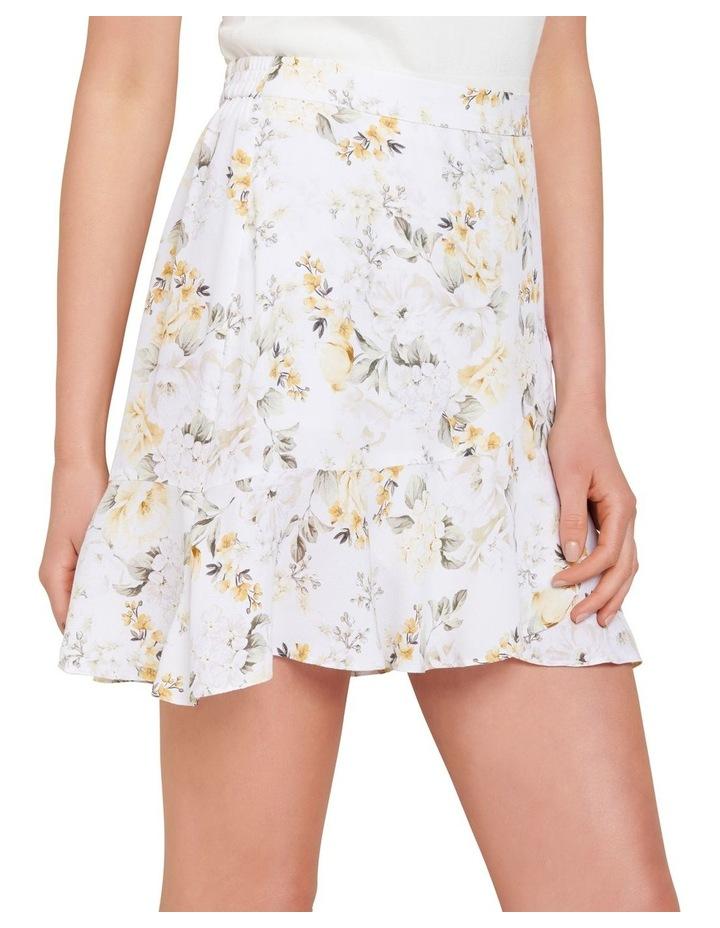 Giselle Petite Mini Ruffle Skirt image 2