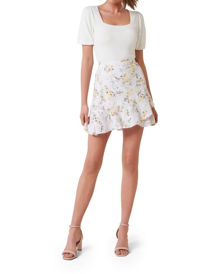 Giselle Petite Mini Ruffle Skirt image 4