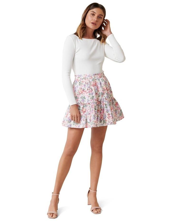 Claudia Ruffle Mini Skirt image 4