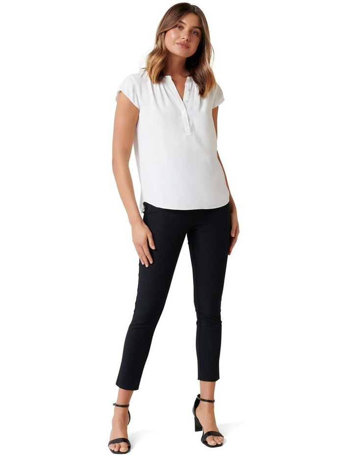 Annaliese Placket Jersey Back Essential image 4