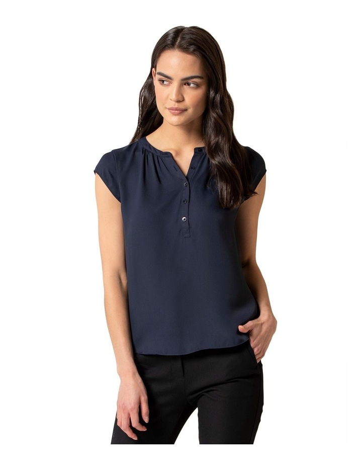 Annaliese Placket Jersey Back Essential image 1