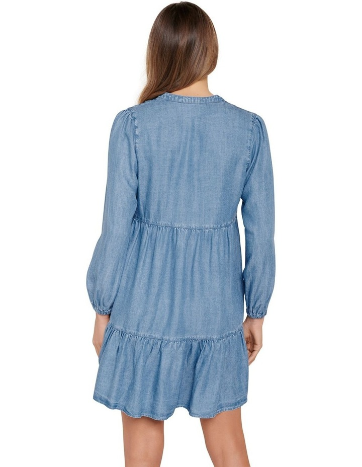 Lucy Denim Smock Dress image 3