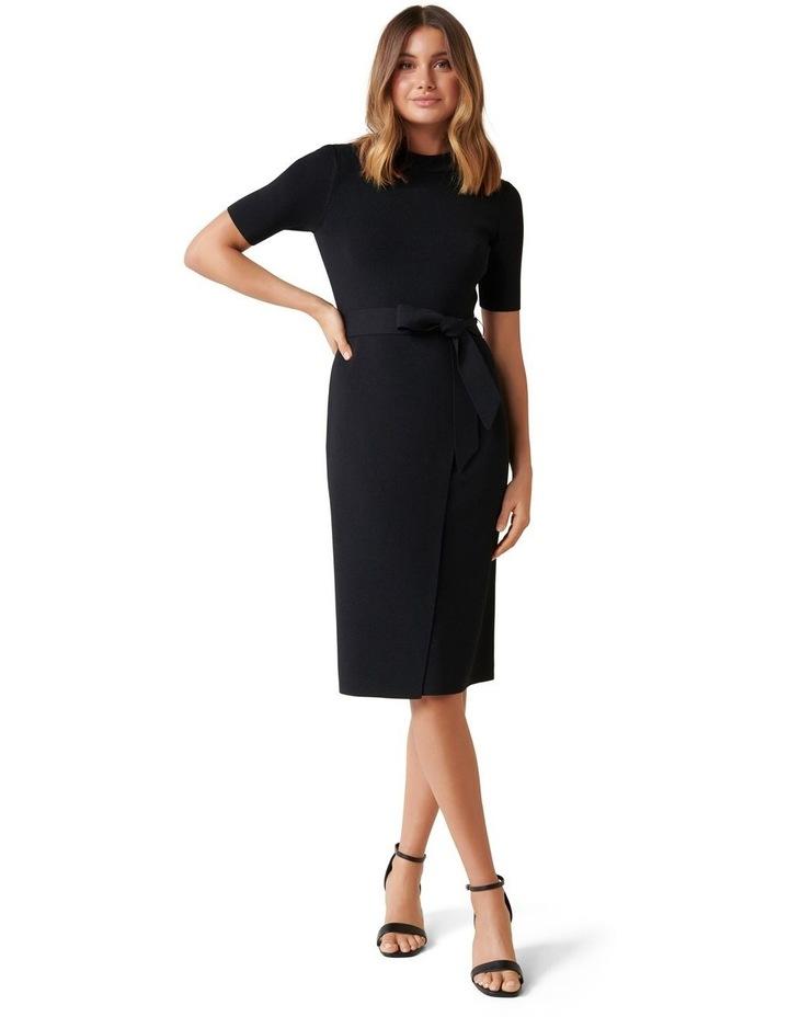 Skye Wrap Knit Dress image 1