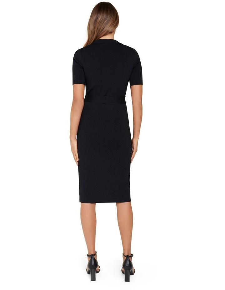 Skye Wrap Knit Dress image 3