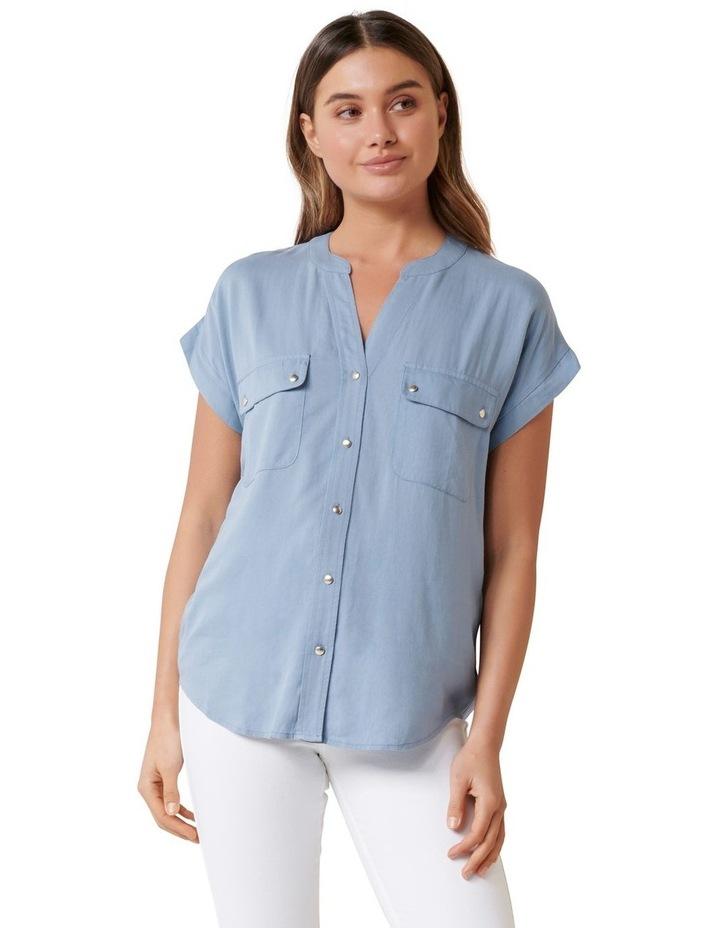 Joie Drop Shoulder Blouse image 1