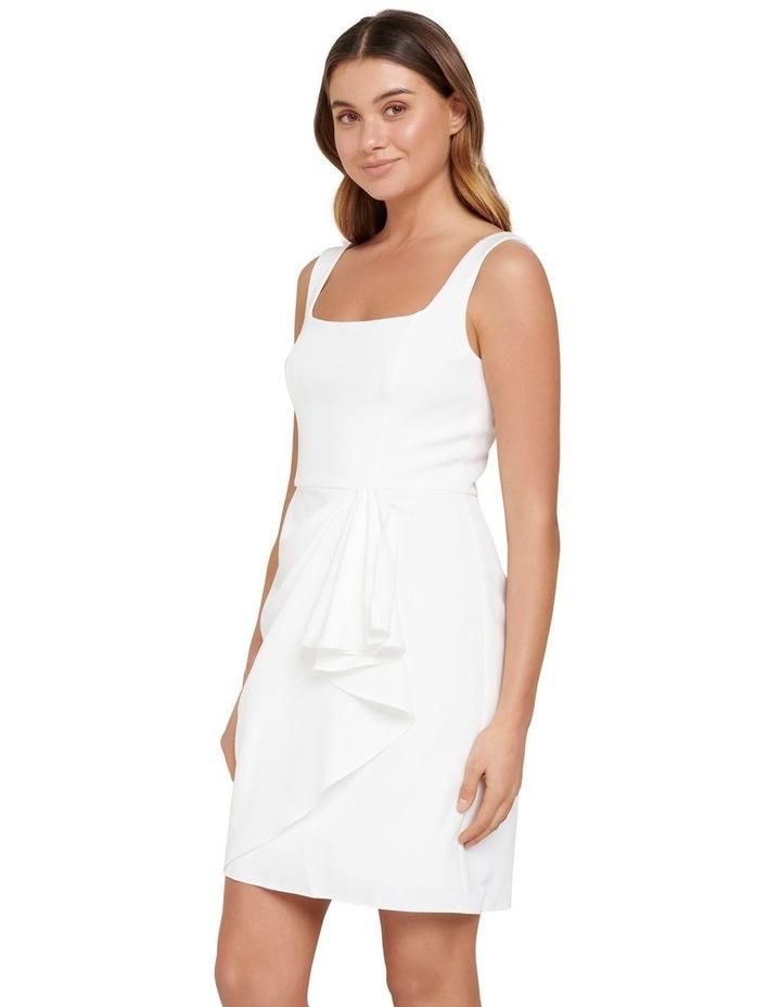 Kaitlyn Square Neck Drape Mini Dress image 2