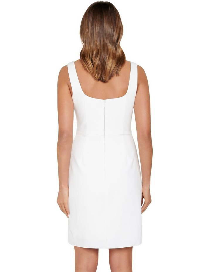 Kaitlyn Square Neck Drape Mini Dress image 3