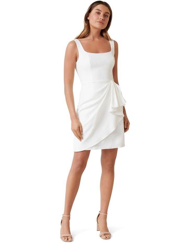 Kaitlyn Square Neck Drape Mini Dress image 4