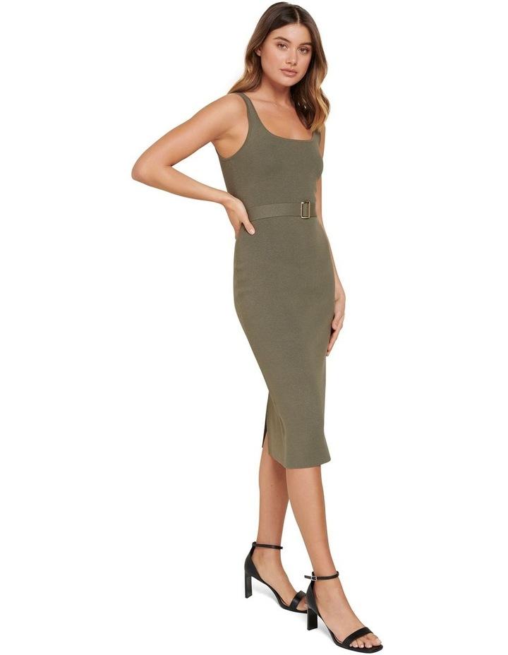 Gabriella Square Neck Midi Knit Dress image 2