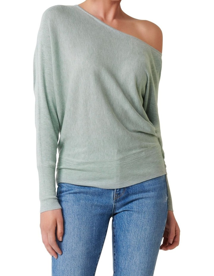 Sadie Off The Shoulder Knit Jumper image 1