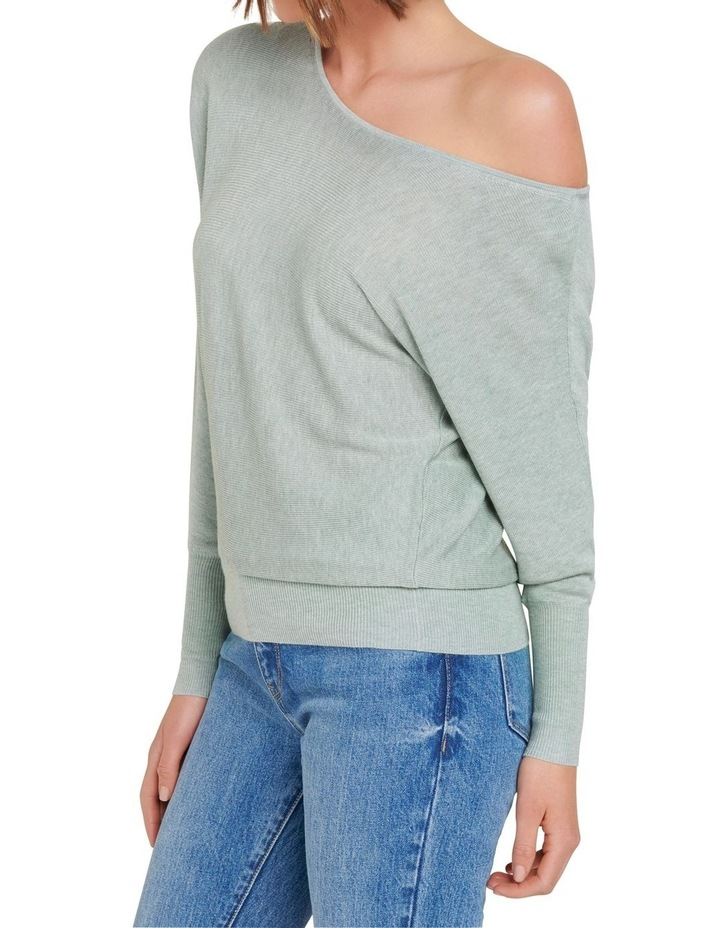 Sadie Off The Shoulder Knit Jumper image 2
