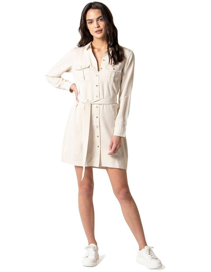 Emilie Utility Shirt Dress image 1