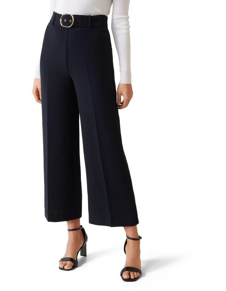 Nadine Belted Culotte Pants image 1
