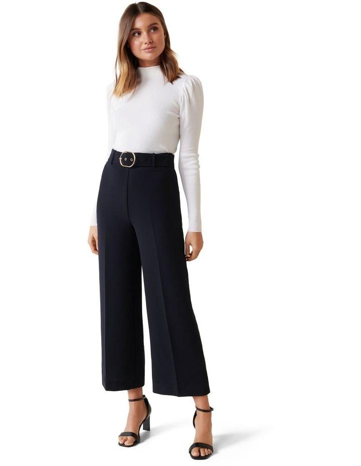 Nadine Belted Culotte Pants image 4
