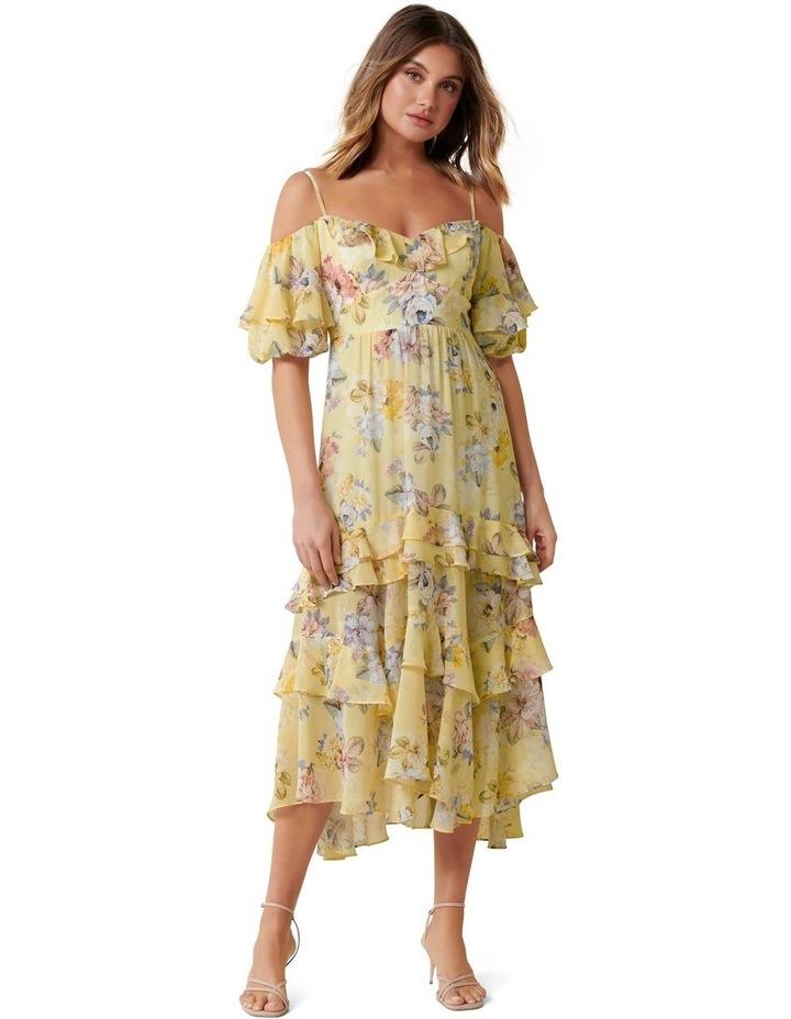 Seraphina Ruffle Midi Dress image 1