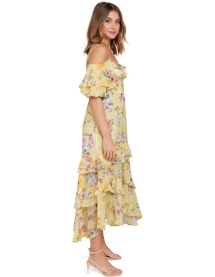 Seraphina Ruffle Midi Dress image 2