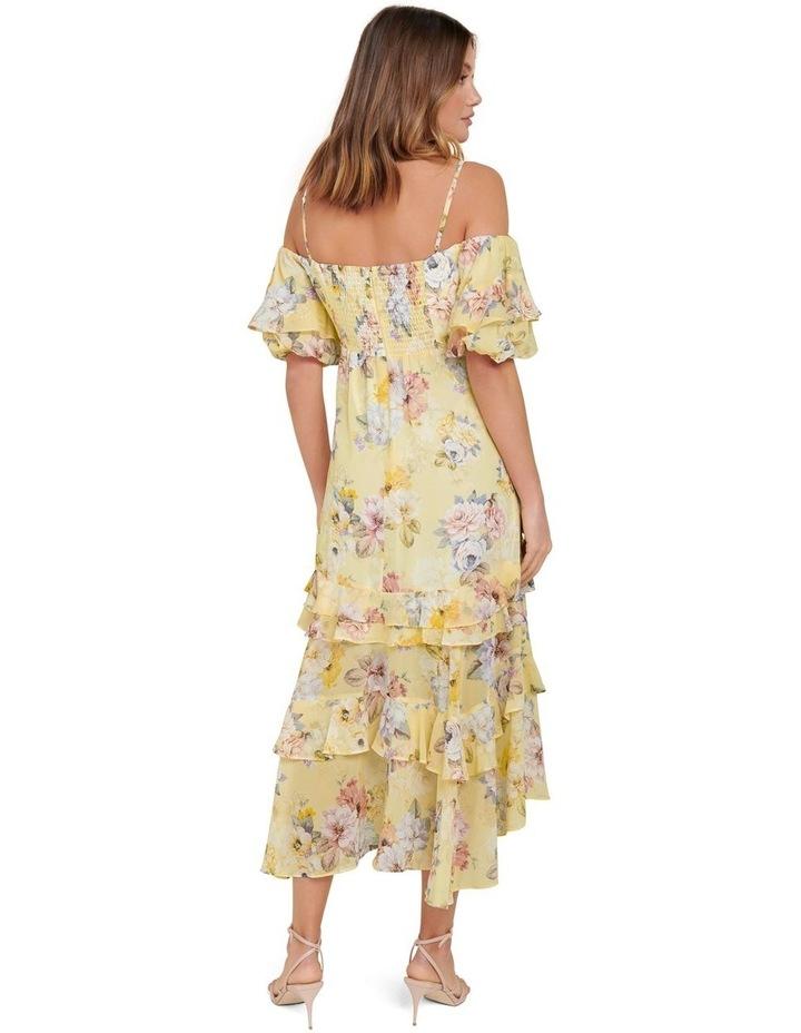 Seraphina Ruffle Midi Dress image 3