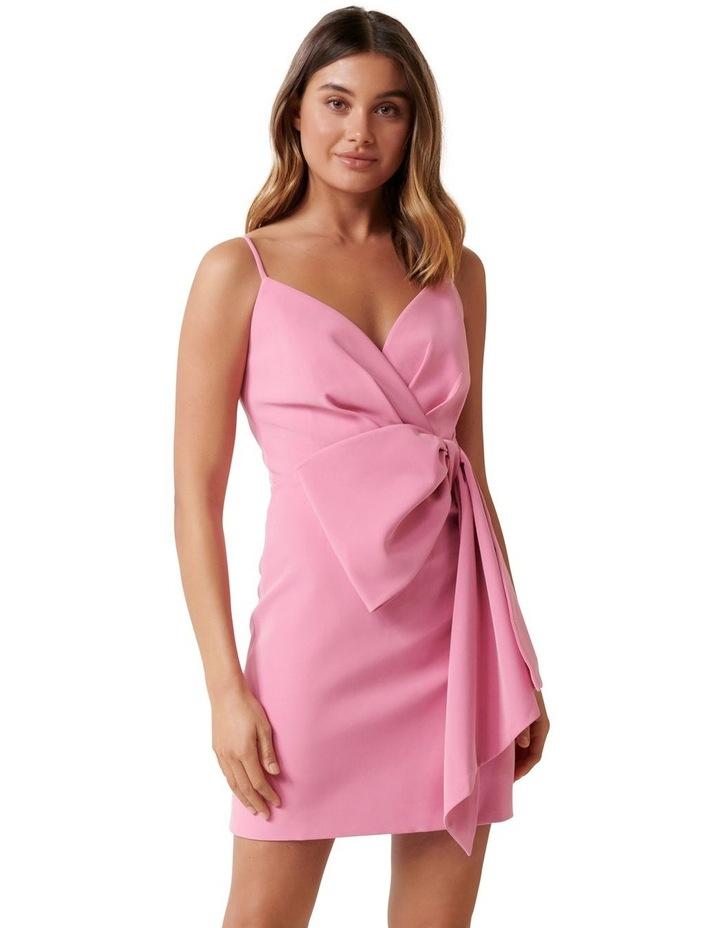 Lindsey Bow Mini Dress image 1