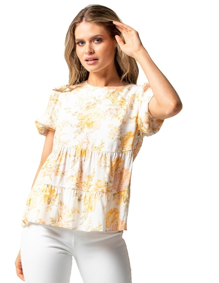 Analia Smock Printed Top image 1