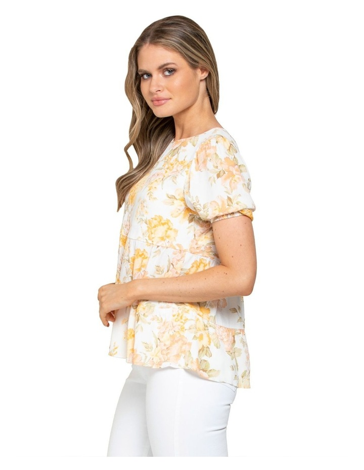 Analia Smock Printed Top image 2