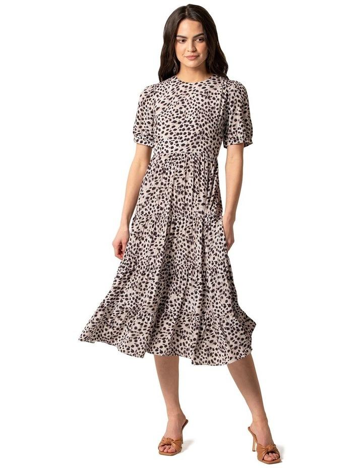 Betty Printed Midi Dress image 1