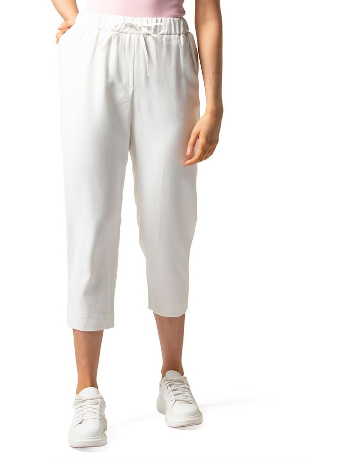 Sam Petite Elastic Waist Relaxed Pants image 1