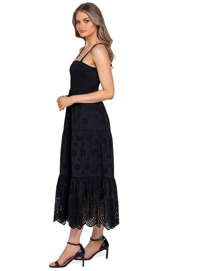 Loretta Shirred Midi Dress image 2